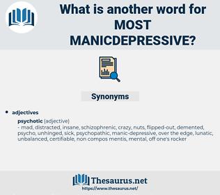 most manicdepressive, synonym most manicdepressive, another word for most manicdepressive, words like most manicdepressive, thesaurus most manicdepressive
