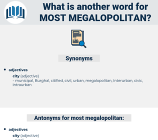 most megalopolitan, synonym most megalopolitan, another word for most megalopolitan, words like most megalopolitan, thesaurus most megalopolitan