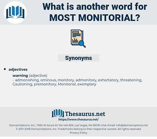 most monitorial, synonym most monitorial, another word for most monitorial, words like most monitorial, thesaurus most monitorial
