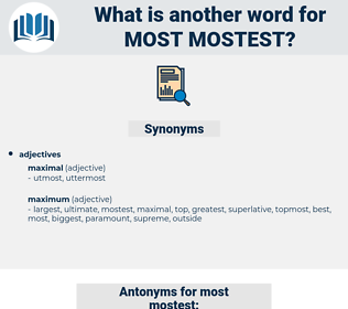most mostest, synonym most mostest, another word for most mostest, words like most mostest, thesaurus most mostest