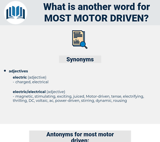 most motor-driven, synonym most motor-driven, another word for most motor-driven, words like most motor-driven, thesaurus most motor-driven