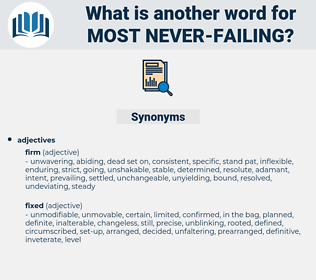 most never-failing, synonym most never-failing, another word for most never-failing, words like most never-failing, thesaurus most never-failing