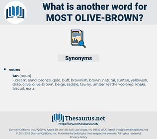 most olive brown, synonym most olive brown, another word for most olive brown, words like most olive brown, thesaurus most olive brown