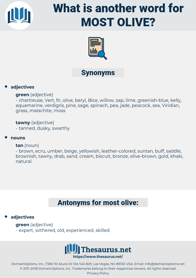 most olive, synonym most olive, another word for most olive, words like most olive, thesaurus most olive