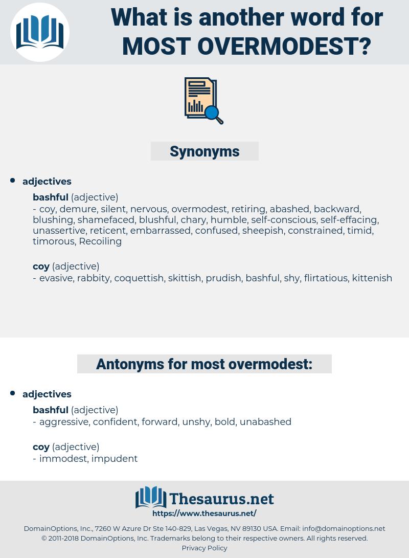 most overmodest, synonym most overmodest, another word for most overmodest, words like most overmodest, thesaurus most overmodest