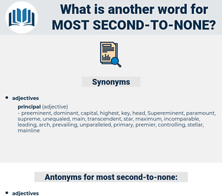 most second to none, synonym most second to none, another word for most second to none, words like most second to none, thesaurus most second to none
