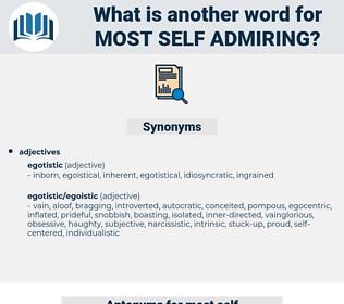 most self admiring, synonym most self admiring, another word for most self admiring, words like most self admiring, thesaurus most self admiring