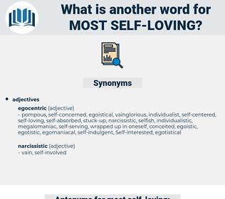 most self-loving, synonym most self-loving, another word for most self-loving, words like most self-loving, thesaurus most self-loving