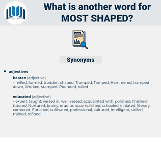 most shaped, synonym most shaped, another word for most shaped, words like most shaped, thesaurus most shaped