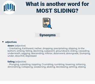 most sliding, synonym most sliding, another word for most sliding, words like most sliding, thesaurus most sliding
