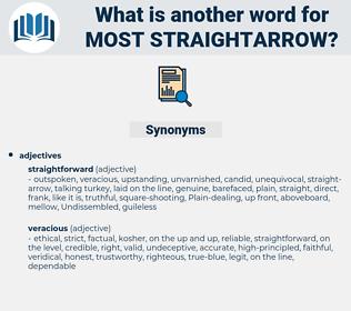 most straightarrow, synonym most straightarrow, another word for most straightarrow, words like most straightarrow, thesaurus most straightarrow