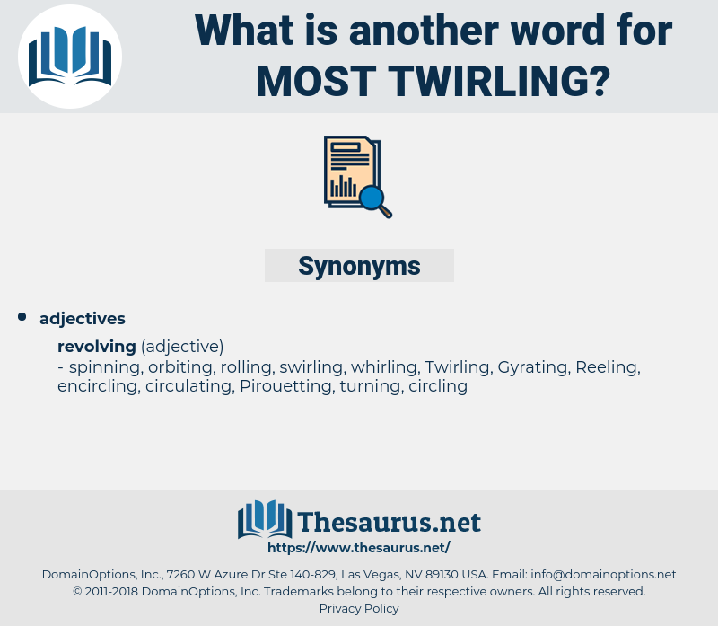 most twirling, synonym most twirling, another word for most twirling, words like most twirling, thesaurus most twirling