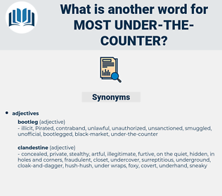 most under-the-counter, synonym most under-the-counter, another word for most under-the-counter, words like most under-the-counter, thesaurus most under-the-counter