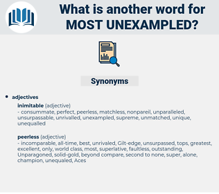 most unexampled, synonym most unexampled, another word for most unexampled, words like most unexampled, thesaurus most unexampled