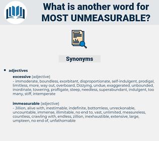 most unmeasurable, synonym most unmeasurable, another word for most unmeasurable, words like most unmeasurable, thesaurus most unmeasurable
