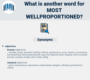 most wellproportioned, synonym most wellproportioned, another word for most wellproportioned, words like most wellproportioned, thesaurus most wellproportioned