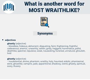most wraithlike, synonym most wraithlike, another word for most wraithlike, words like most wraithlike, thesaurus most wraithlike