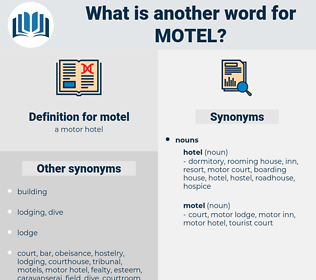motel, synonym motel, another word for motel, words like motel, thesaurus motel