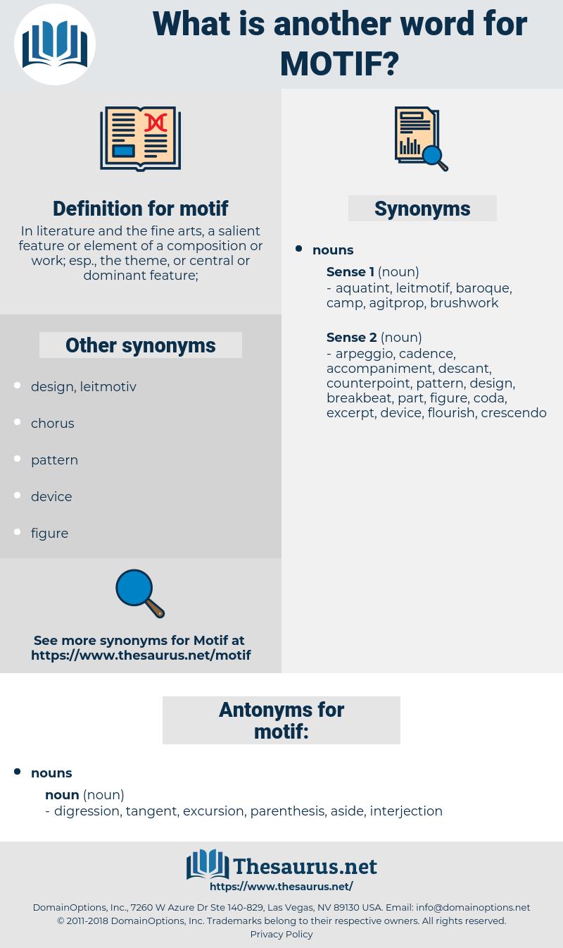 motif, synonym motif, another word for motif, words like motif, thesaurus motif
