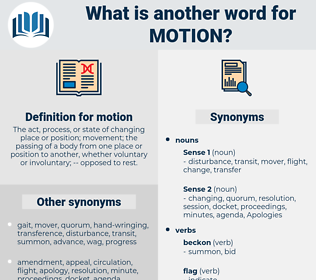 motion, synonym motion, another word for motion, words like motion, thesaurus motion