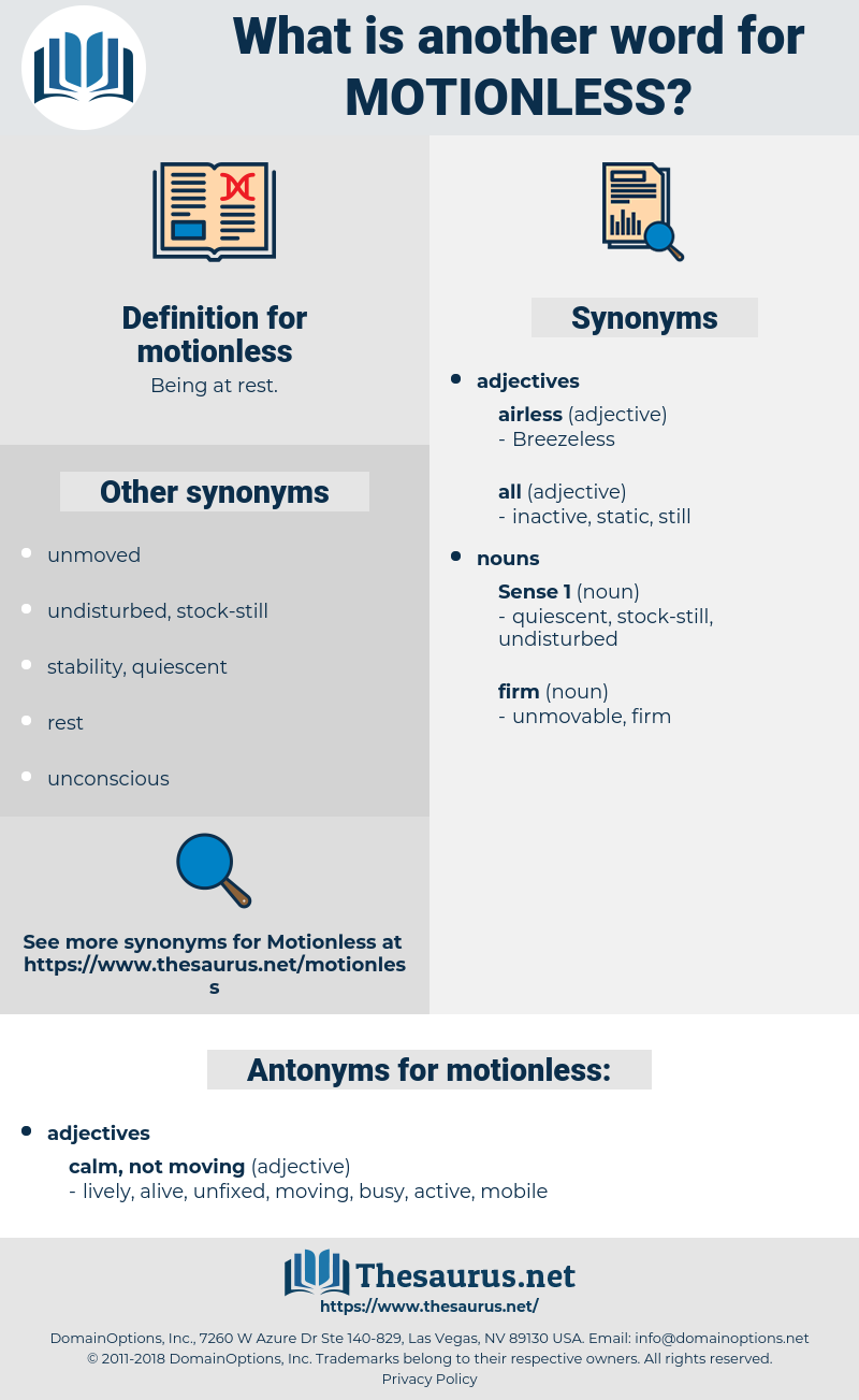 motionless, synonym motionless, another word for motionless, words like motionless, thesaurus motionless