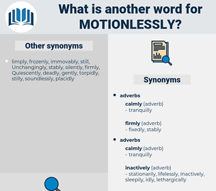 motionlessly, synonym motionlessly, another word for motionlessly, words like motionlessly, thesaurus motionlessly