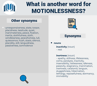motionlessness, synonym motionlessness, another word for motionlessness, words like motionlessness, thesaurus motionlessness