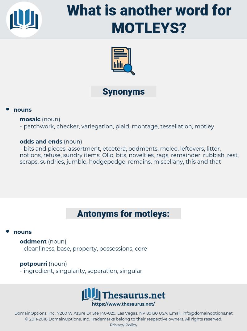 motleys, synonym motleys, another word for motleys, words like motleys, thesaurus motleys