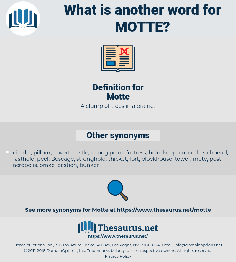 Motte, synonym Motte, another word for Motte, words like Motte, thesaurus Motte