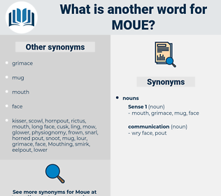 moue, synonym moue, another word for moue, words like moue, thesaurus moue