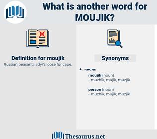 moujik, synonym moujik, another word for moujik, words like moujik, thesaurus moujik