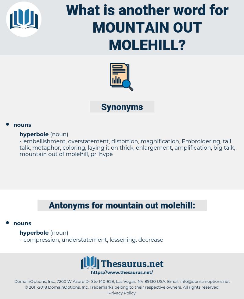 mountain out molehill, synonym mountain out molehill, another word for mountain out molehill, words like mountain out molehill, thesaurus mountain out molehill