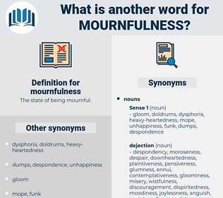 mournfulness, synonym mournfulness, another word for mournfulness, words like mournfulness, thesaurus mournfulness