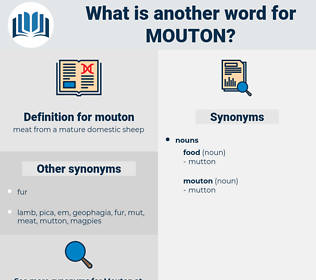 mouton, synonym mouton, another word for mouton, words like mouton, thesaurus mouton