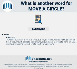 move a circle, synonym move a circle, another word for move a circle, words like move a circle, thesaurus move a circle
