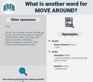 move around, synonym move around, another word for move around, words like move around, thesaurus move around