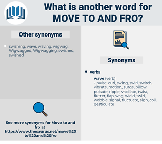 move to and fro, synonym move to and fro, another word for move to and fro, words like move to and fro, thesaurus move to and fro