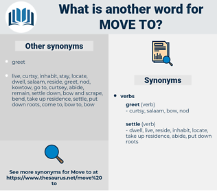 move to, synonym move to, another word for move to, words like move to, thesaurus move to