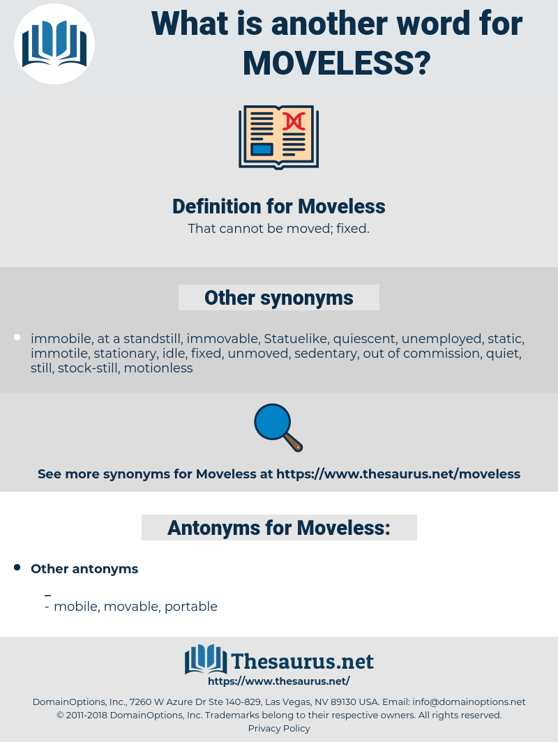 Moveless, synonym Moveless, another word for Moveless, words like Moveless, thesaurus Moveless
