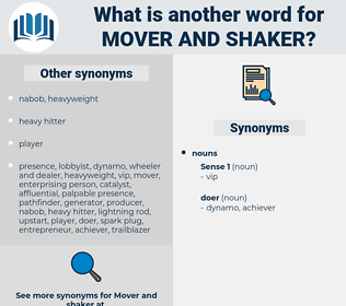 mover and shaker, synonym mover and shaker, another word for mover and shaker, words like mover and shaker, thesaurus mover and shaker