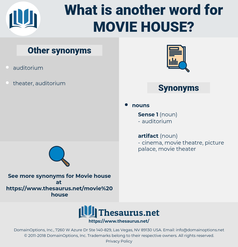 movie house, synonym movie house, another word for movie house, words like movie house, thesaurus movie house