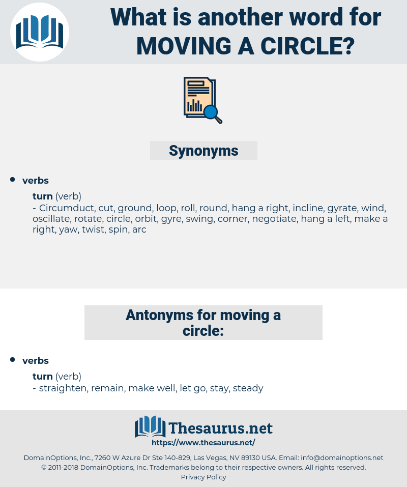 moving a circle, synonym moving a circle, another word for moving a circle, words like moving a circle, thesaurus moving a circle