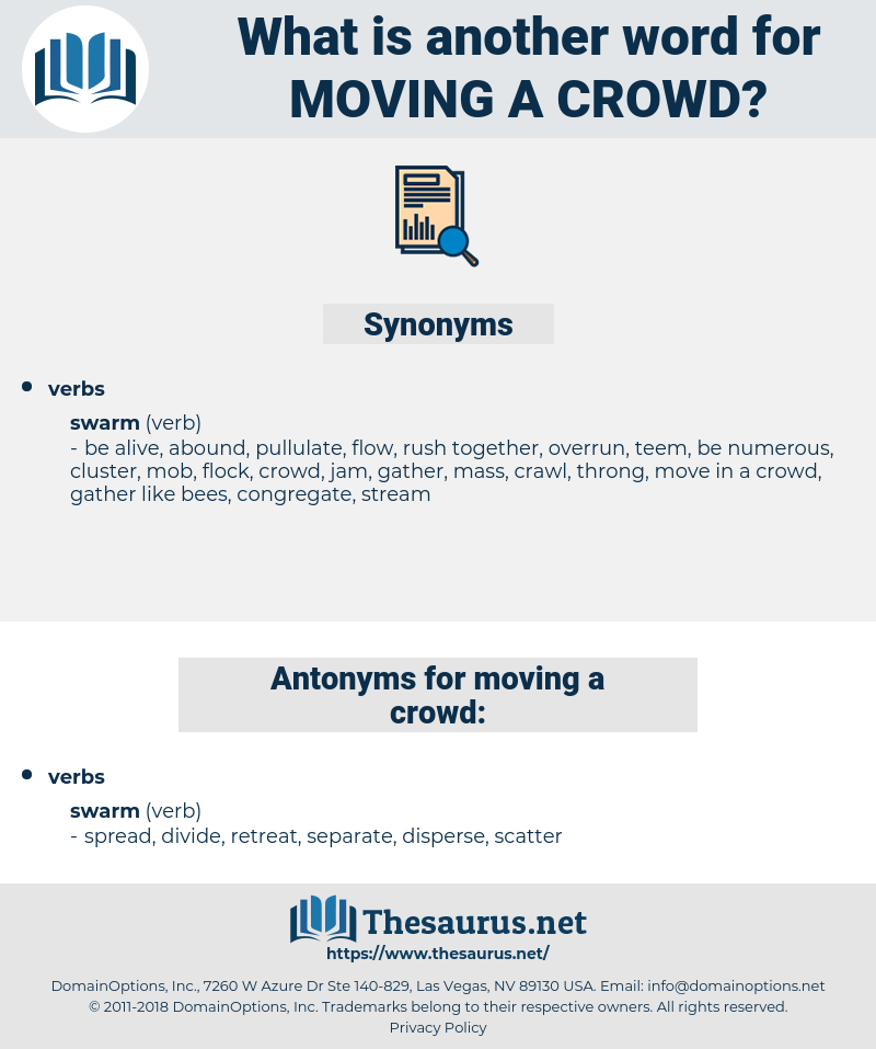 moving a crowd, synonym moving a crowd, another word for moving a crowd, words like moving a crowd, thesaurus moving a crowd