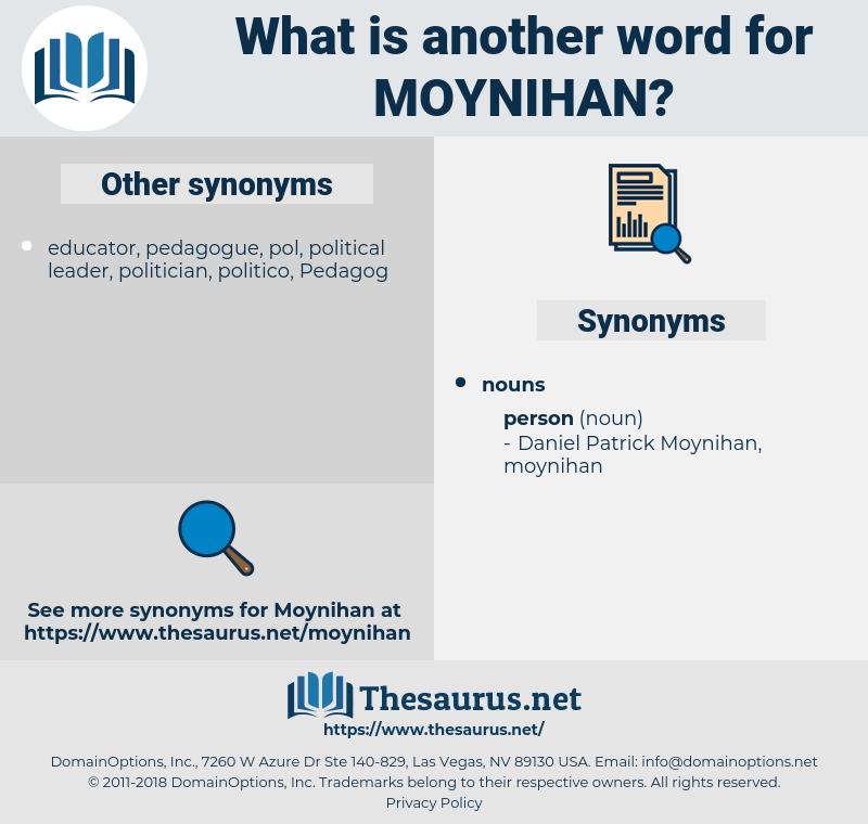moynihan, synonym moynihan, another word for moynihan, words like moynihan, thesaurus moynihan