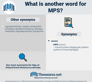 mps, synonym mps, another word for mps, words like mps, thesaurus mps
