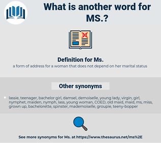 ms, synonym ms, another word for ms, words like ms, thesaurus ms