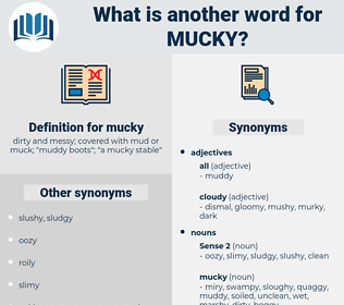 mucky, synonym mucky, another word for mucky, words like mucky, thesaurus mucky