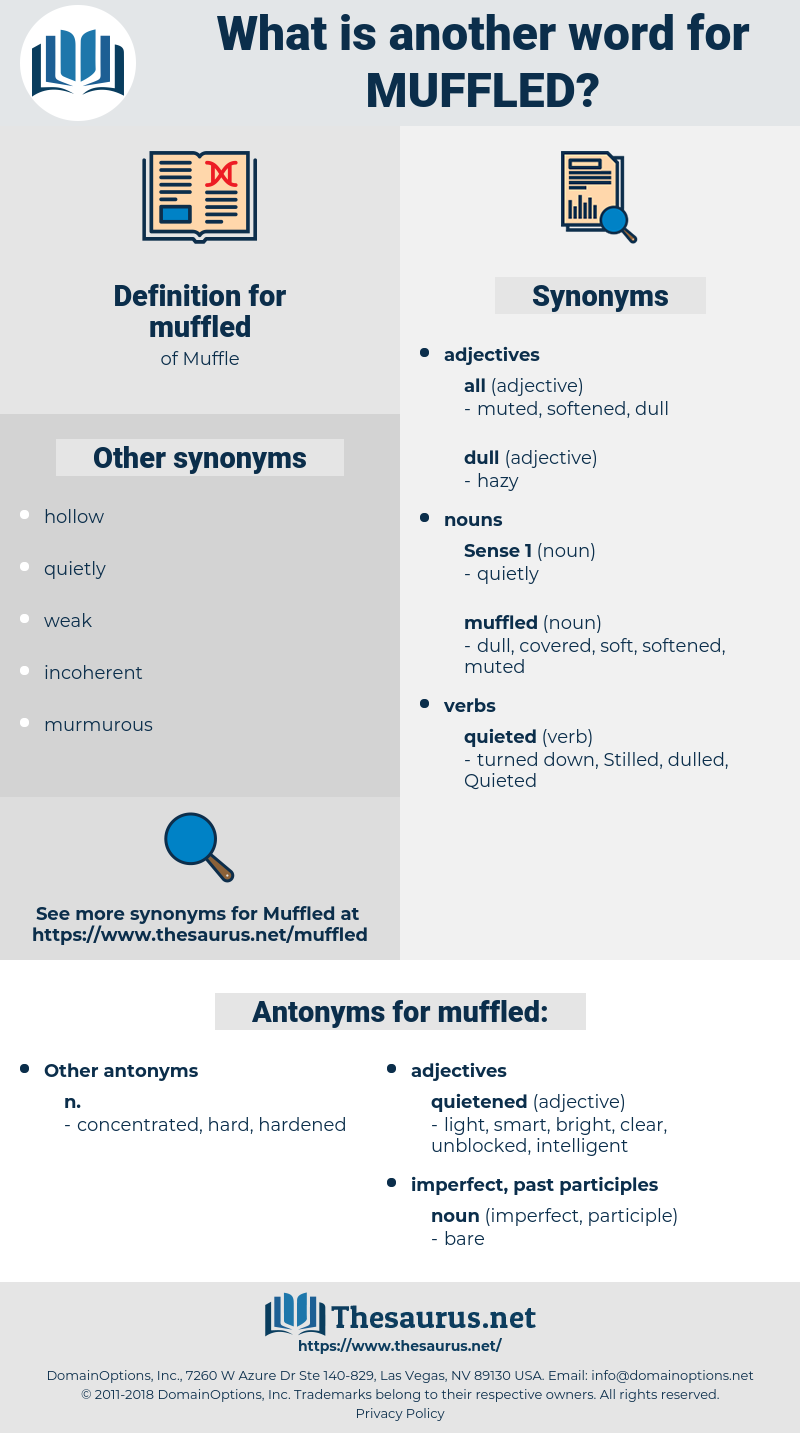 muffled, synonym muffled, another word for muffled, words like muffled, thesaurus muffled