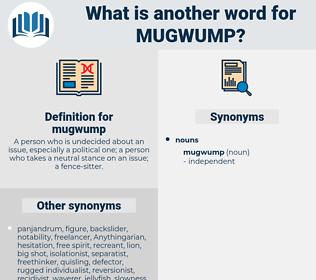 mugwump, synonym mugwump, another word for mugwump, words like mugwump, thesaurus mugwump
