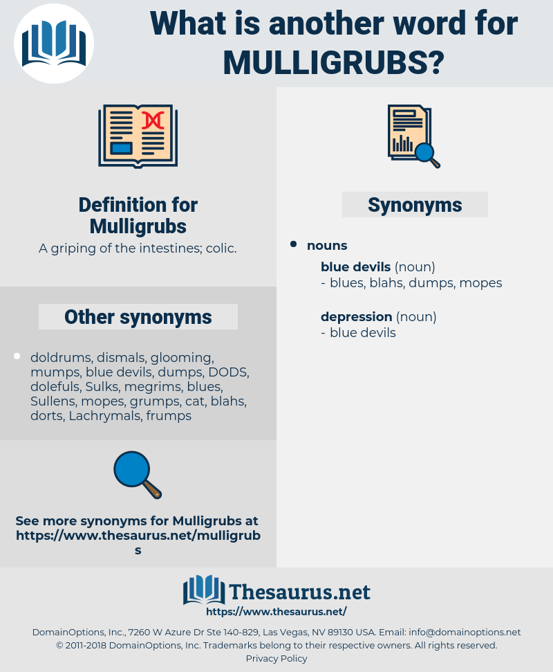 Mulligrubs, synonym Mulligrubs, another word for Mulligrubs, words like Mulligrubs, thesaurus Mulligrubs